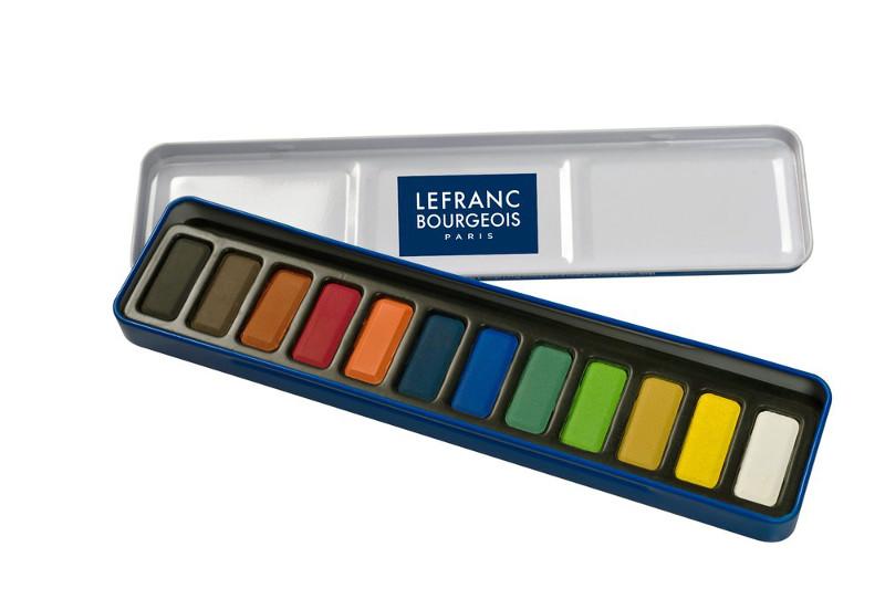 Akvarellfärger