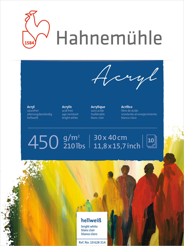 Hahnemühle Acrylic 450g
