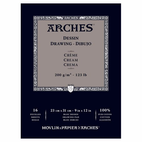 Ritblock Arches Drawing 200g 23x31 cm 16 ark. (3F)