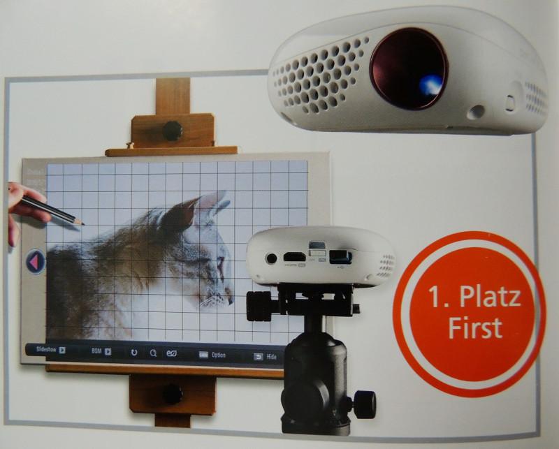 Projektor Artograph Flare150 LED Art Projector