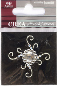 Creamotion Strass flower cristal (6F) Best. vara