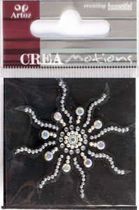 Creamotion Strass sun black / cristal (6F) Best. vara