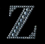 Scrapbooking Strass Monogramm Z (6F)