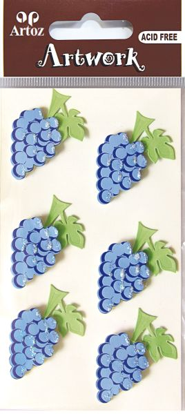 Art-Work: bunch of grapes (6F)
