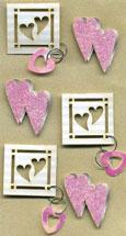 Art-Work  Heart pink 556 013 (6F) utgår