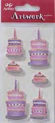 Art-Work: Birthday cakes  (6F)