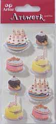 Art-Work: Cakes  (6F)