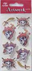 Art-Work: Pirate skull  (6F)
