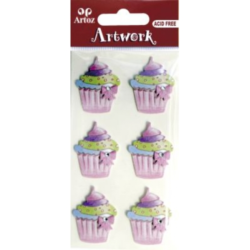 Art-Work:  cupcakes (6F)