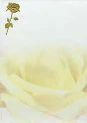 Design paper A4 Golden rose 50-p Best. vara
