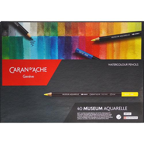 Akvarellpennset Caran d´Ache MUSEUM 40set
