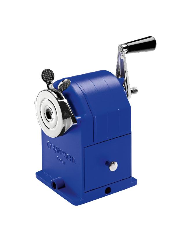 Pennvässare Caran d´Ache MAchine Metal klein blue
