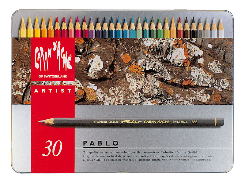 Färgpenna Caran d´Ache Artist Pablo 30 sort     330 (5F)