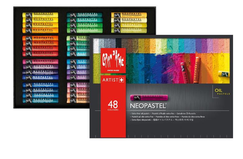 Oljepastell Caran d´Ache NeoPastel 48 sort   348 (3F)