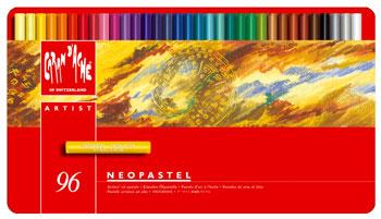 Oljepastell Caran d´Ache NeoPastel 96 kritor  396