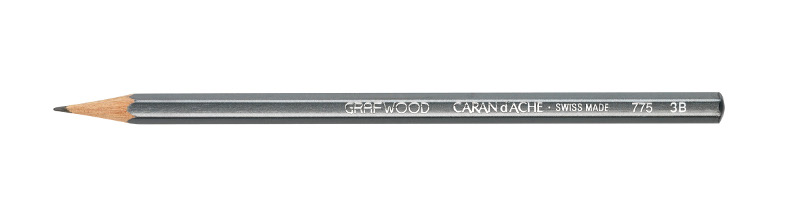 Grafitpenna Caran d´Ache Artist GRAFWOOD 3B (3F)