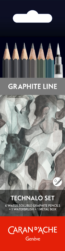 Blyertspennset Caran d´Ache Artist Multi-tech