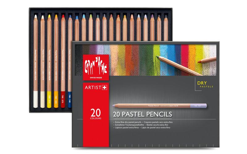 Pastellpennset Caran d´ache 20 pennor