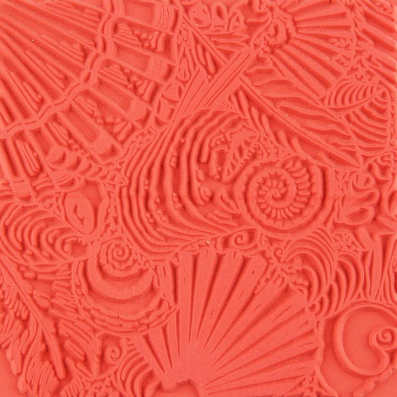 Lera Cernit Texture Mat 9 X 9 CM - SHELLS 008 (10F)