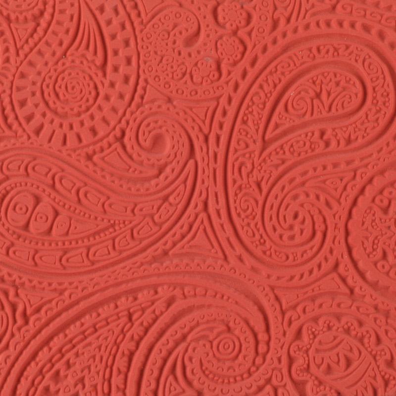 Lera Cernit Texture Mat 9 X 9 CM - PAISLEY 010 (10F)