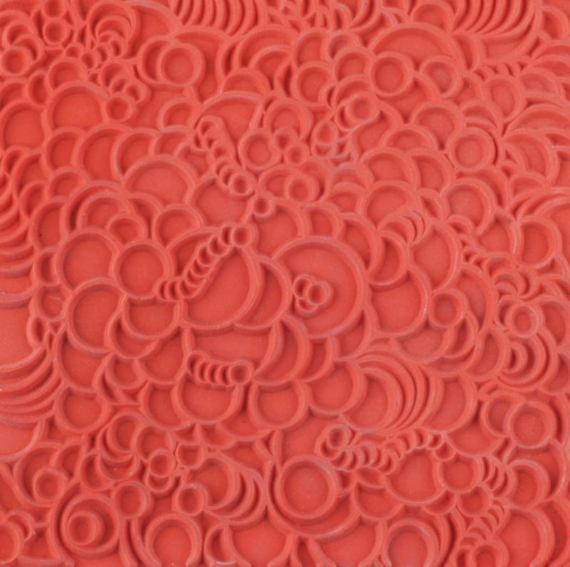 Lera Cernit Texture Mat 9 X 9 CM - BUBBLES 011 (10F)