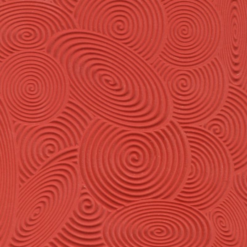 Lera Cernit Texture Mat 9 X 9 CM - SPIRALS 012 (10F)