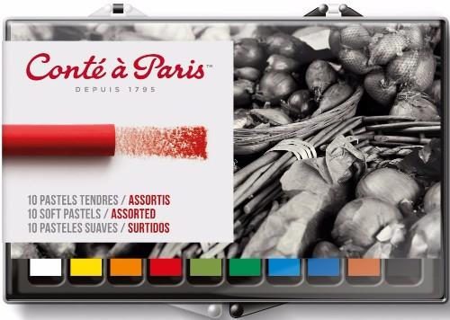 Torrpastell Soft Conté á Paris  Set of 10 assorted