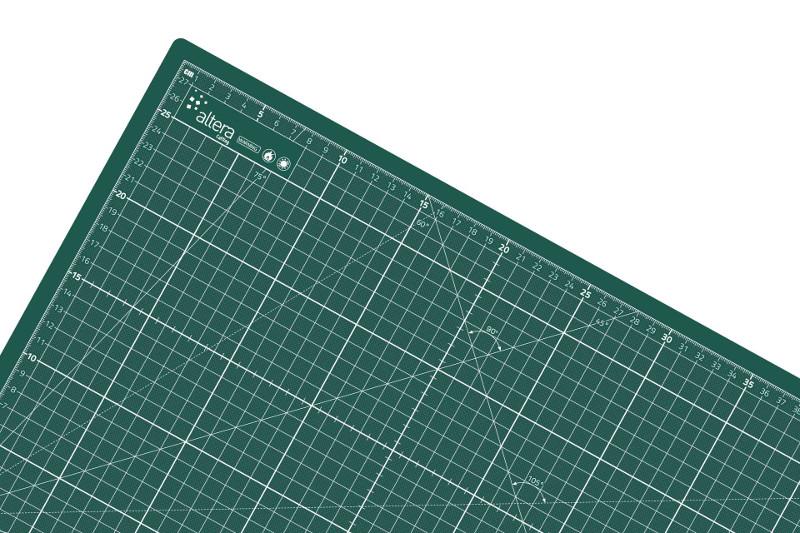 Skärmatta Altera PRO Line XXL CMP-GG100x200cm - 3mm - Enkelsidig Grön