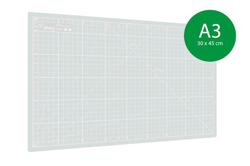Skärmatta Altera PRO Line CMP-T A3 - 3mm - Enkelsidig Transparent