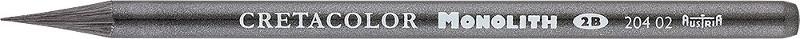 Blyertspenna Cretacolor Monolith Graphit 2B. (12F)