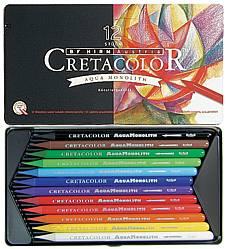 Akvarellpennset Cretacolor Aqua Monolith 12 pennor (6F)