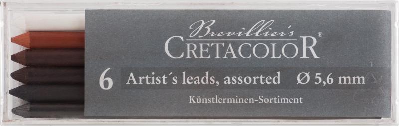 Stiftset Cretacolor 6 sorterade stift