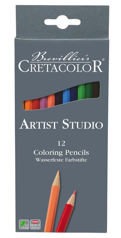 Färgpennset Cretacolor Artist Studio Line - 12pennor