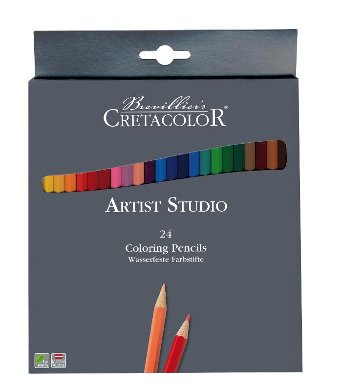 Färgpennset Cretacolor Artist Studio Line - 24pennor