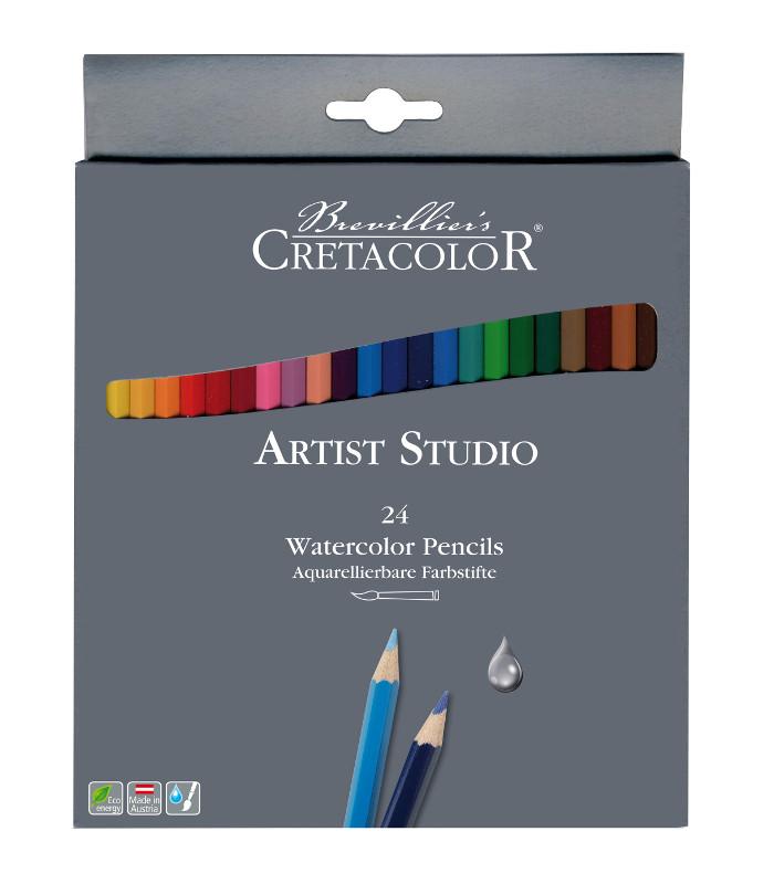 Akvarellpennset Cretacolor Artist Studio Line - 24pennor