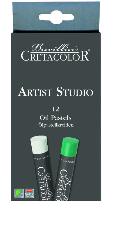 Oljepastellset Cretacolor Artist Studio Line - Oil Pastel set 12 kritor