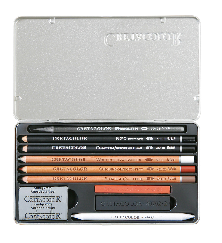 Blyertspennset Cretacolor Artino Sketch Set (6F)