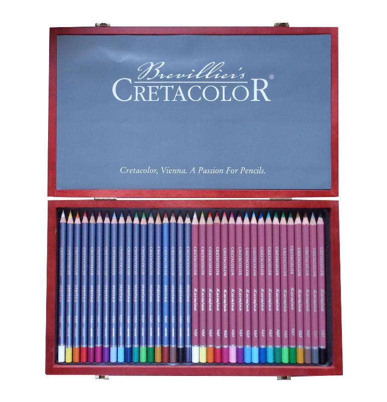 Pennset Marino Akvarell- & Karmina färgpenna  36pennor utgår