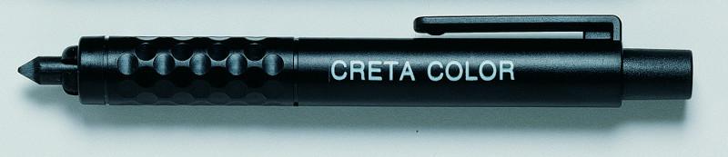 Stifthållare Cretacolor Helt iSvartplast med clip 43000