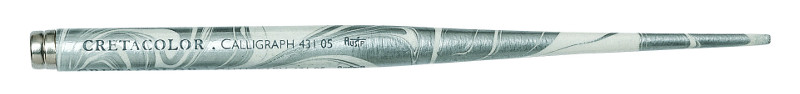 Kalligrafi Pennskaft Cretacolor Silver/White (5F)