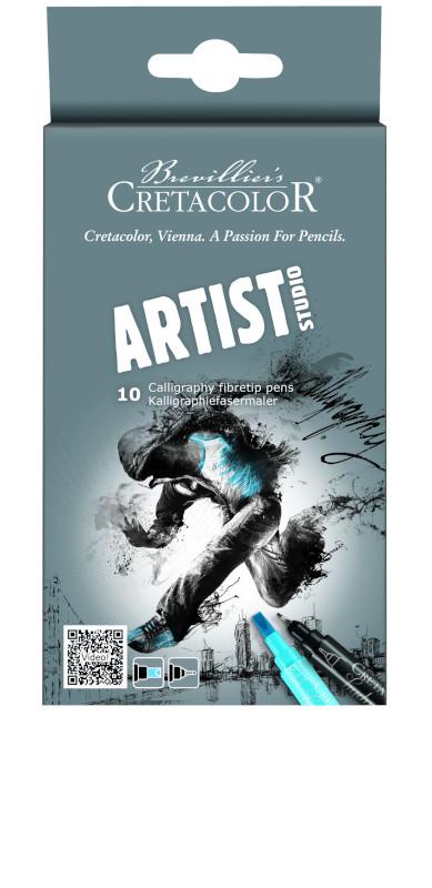 Kalligrafiset Cretacolor Artist Studio Line 10 delar (12F)