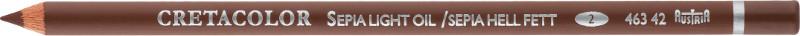 Ritkolspenna Cretacolor Skiss Sepia ljus Negro (3F)