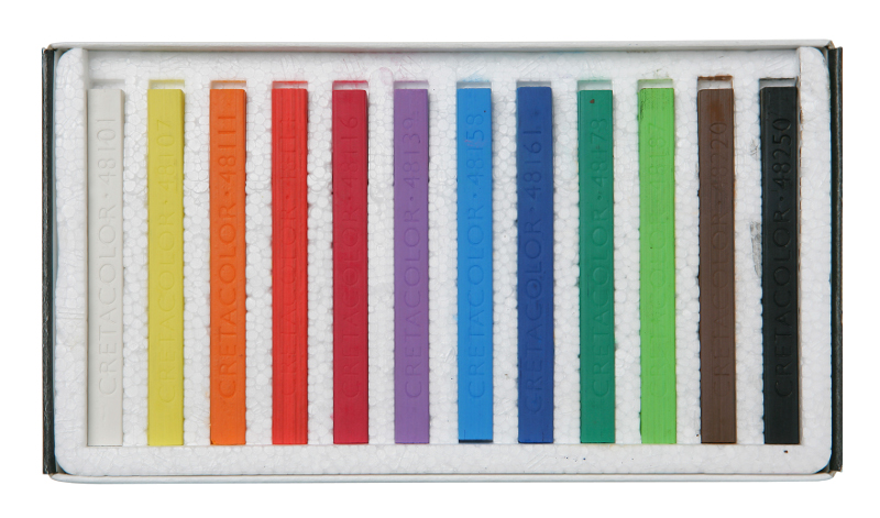 Pastellset Cretacolor Carre Pastel 12 kritor Starter set  (6F)