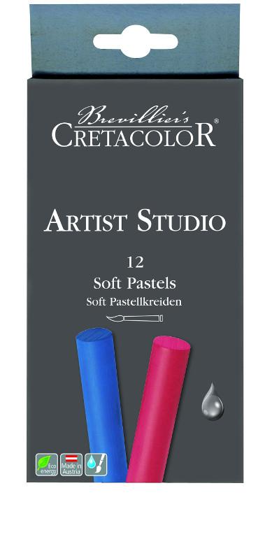 Pastellset Cretacolor Artist Studio Line - Soft Pastel set 12 kritor