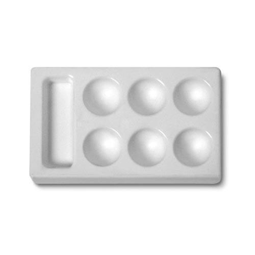 Plastkopp P153. Rektangulär. 7x12 cm. (10F)
