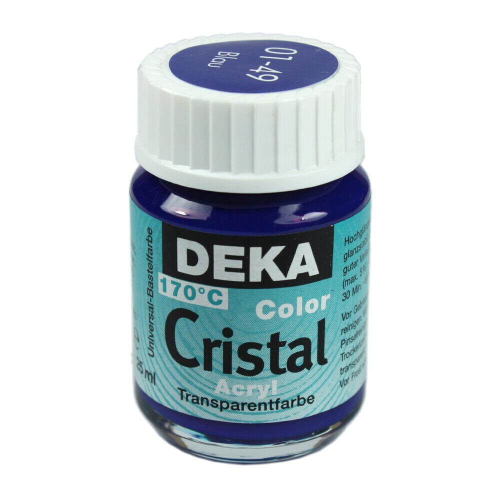Glasfärg DEKA ColorCristal 25 ml Blau  0149 (6F)