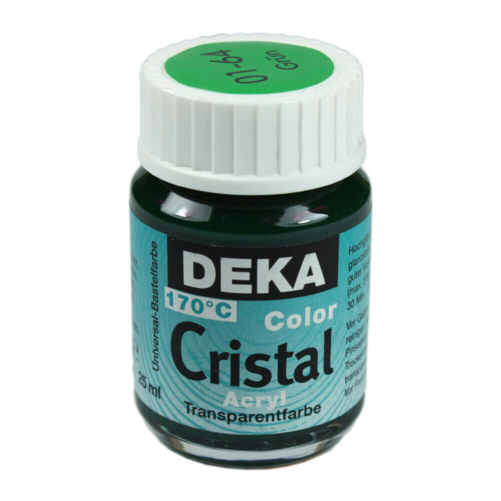Glasfärg DEKA ColorCristal 25 ml Grün  0164 (6F)