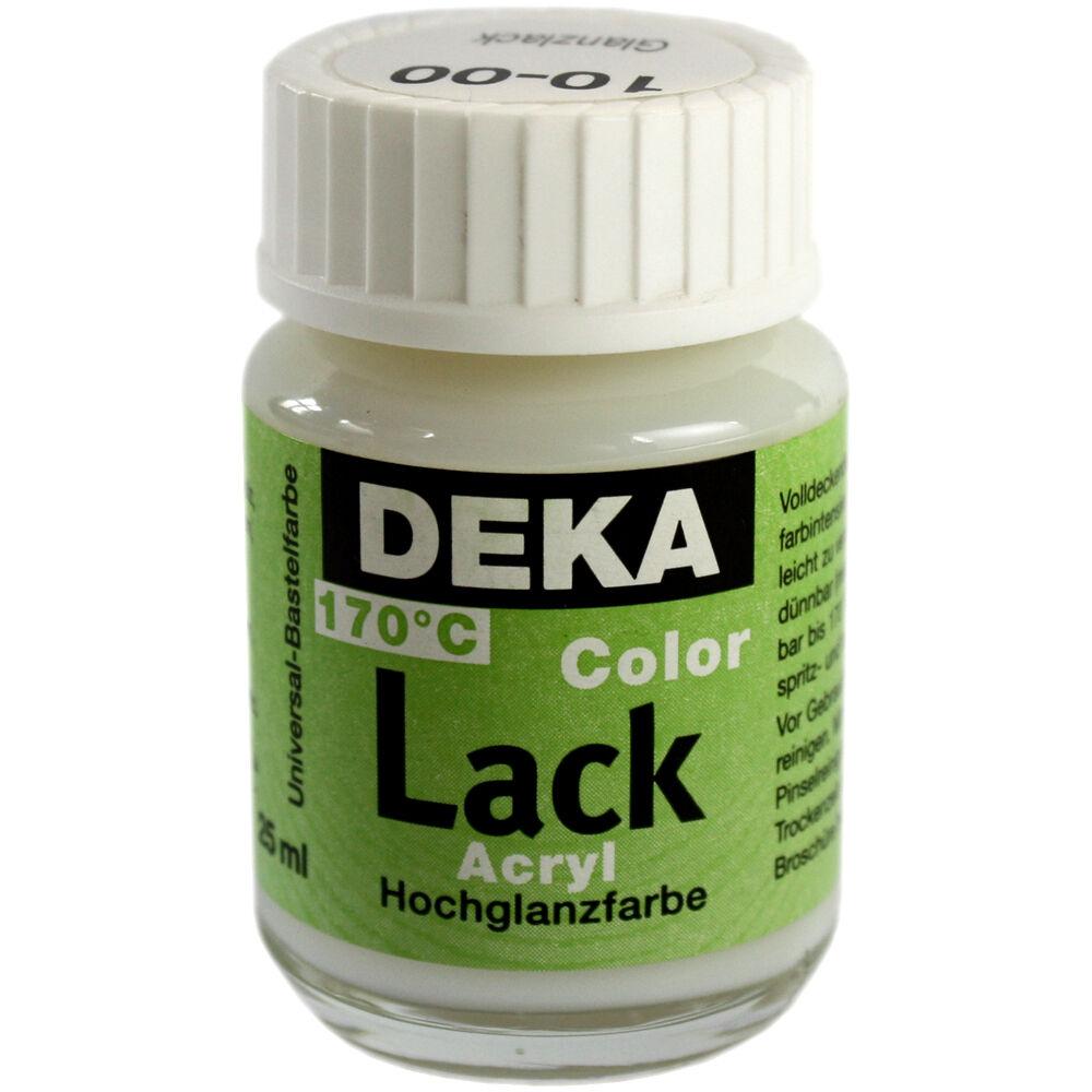Hobbyfärg DEKA Lack 50 ml Blank Lack/fernissa  1000 (6F)