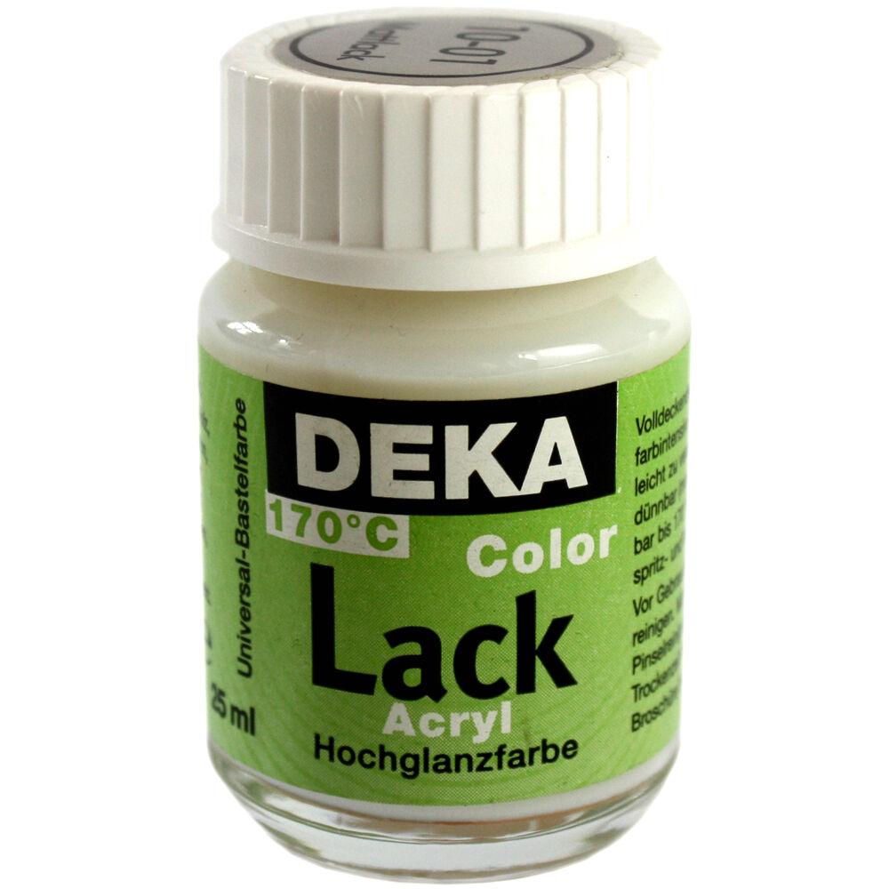 Hobbyfärg DEKA Lack 50 ml Matt Lack/fernissa  1001 (6F)