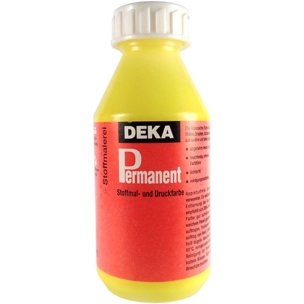Tygfärg DEKA Perm. 125 ml Citron  2004